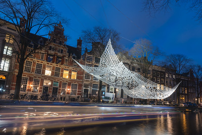 The Lace, Choi + Shine Architects - Amsterdam Light Festival 2016