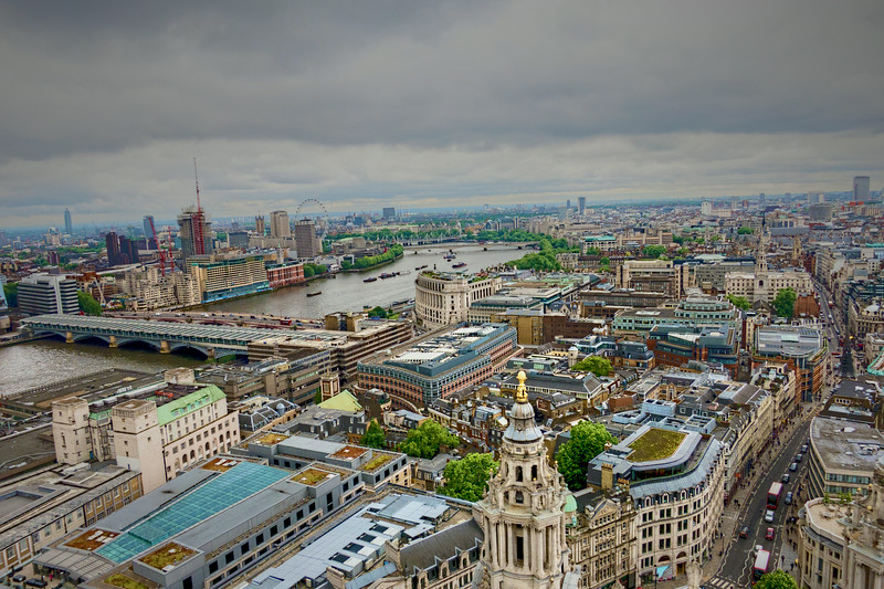 View from St Paul's Cathedral<br /> London