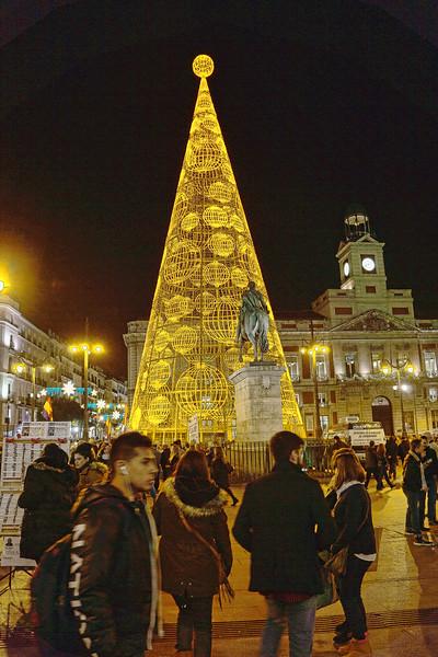 Plaza Puerto del Sol<br /> Madrid