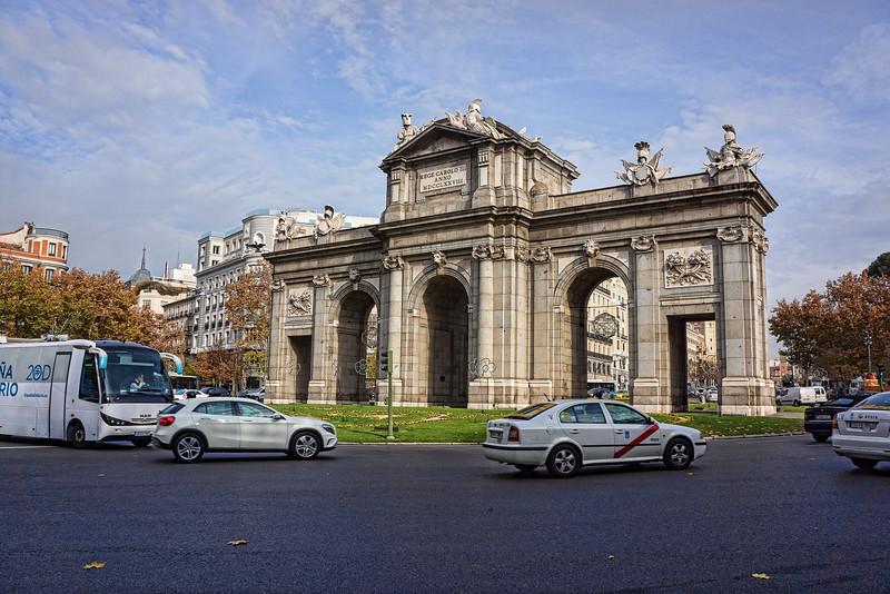 Puerta de Alcala<br /> Plaza de la Independencia<br /> Madrid