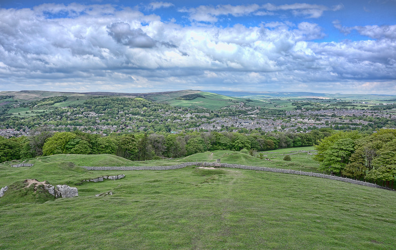 View from Solomon's Temple<br /> Buxton, UK