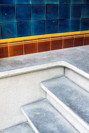 Staircase in Jan Luijkenstraat around Museumplein