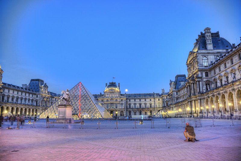 The Louvre<br /> Paris