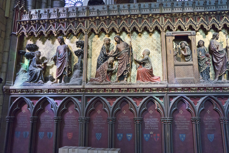 """Appearances of the Risen Christ""<br /> Notre Dame, Paris"