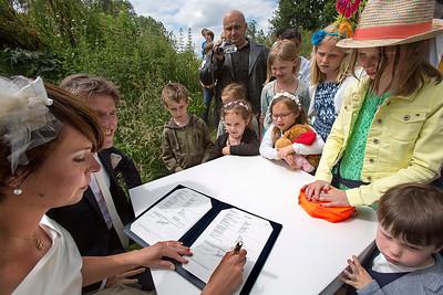 Huwelijk Arnoud en Iris 14 juni 2014, foto: Katrien Mulder