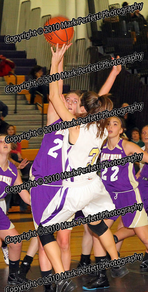 #24 Katie Conery,  #3 Megan Ottati  (rebound)