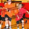 Matt Murphy (orange) Tyler Brender (red)