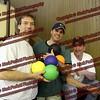 Bill Agresta, Scott Brennan, Bob Motyl, Amst Youth Baseball