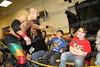blue shirt, Nicholas Oertel, red shirt, Braxton Williams, Johnstown
