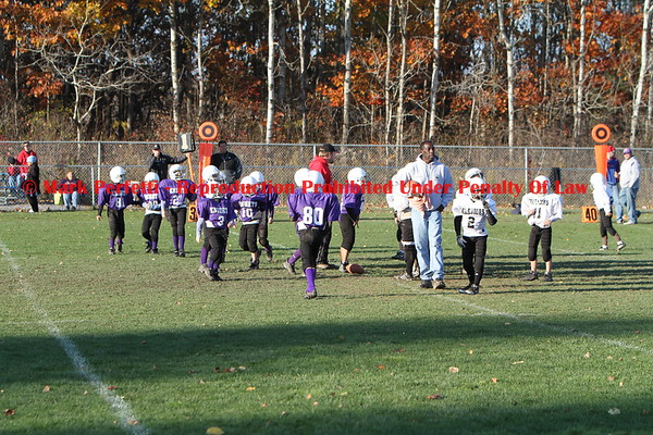 White Warriors vs Purple Knights 10-25-2009