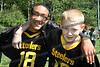Steelers players Jeffrey Goris(wr) and Brian Swank (qb)