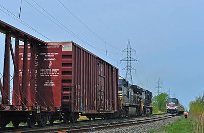 Amtrak Adirondack, St-Jean-sur-Richelieu, Quebec