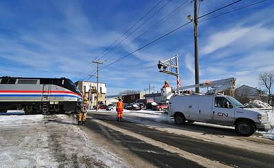 Amtrak #694, St-Jean Qc