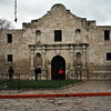 The Alamo.  It rained most of the day we had free to explore.