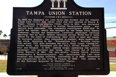 Tampa Fla on Amtrak
