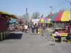 Down the midway of kiddie rides