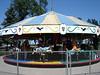 Classic 1954 Herschell Kiddie Carousel.