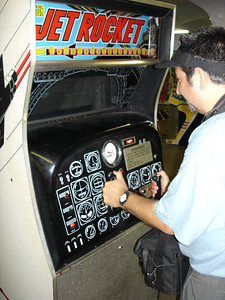 Chris enjoys Jet Rocket - 1970 Sega