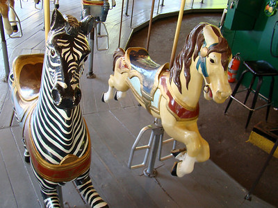 mini Zebra and horse for the little ones