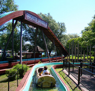 Log Flume (I'm guessing it's an Arrow)