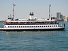 One of the 4 ferrys that traverse Lake Ontario back and forth from the island