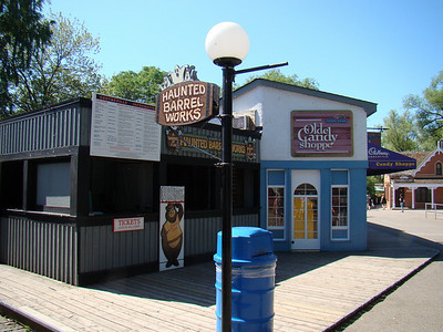 Haunted Barrel Works is an amazing little dark ride - that's very well hidden.  Here's an article from DAFE about it if you want to learn more: http://www.dafe.org/attractions/darkrides/barrelworks/barrelworks1.php