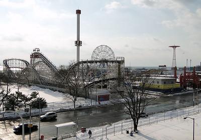 Coney Island - 2011 Winter through Opening Day (Palm Sunday)