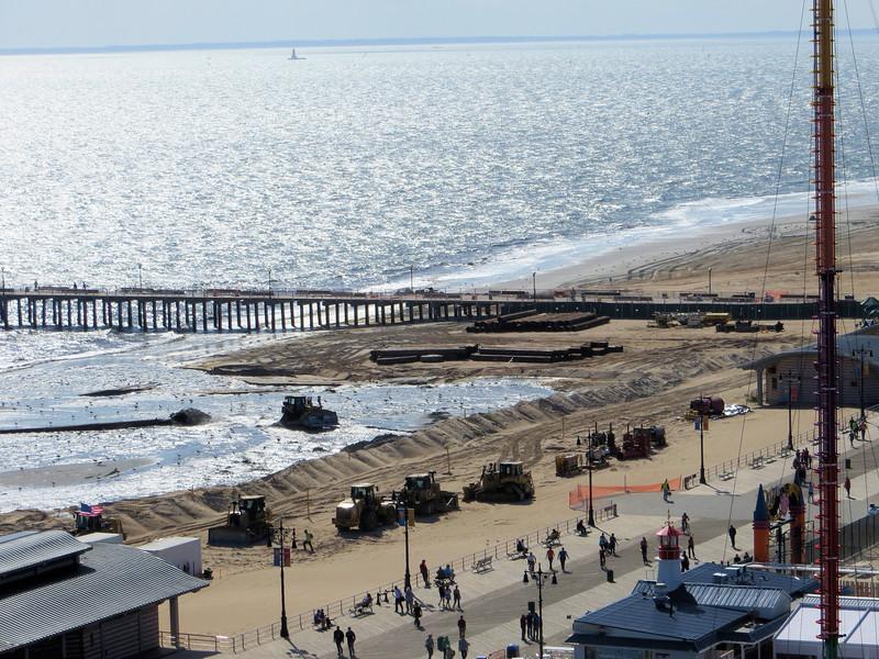 9-21-13 - beach replenishment project