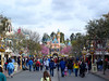 Main Street USA and Sleeping Beauty's Castle