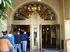 The lobby entrance to the hotel that houses Tower of Terror.