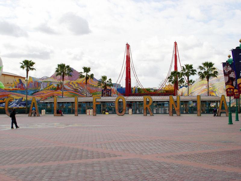 Disney's California Adventure entrance