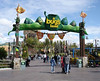 """A Bugs Land is themed to the movie """"A Bug Life"""" - most of the attractions are for the smaller set, but they do have a great interactive movie that's good for all (although perhaps a bit too much for the youngest)."""