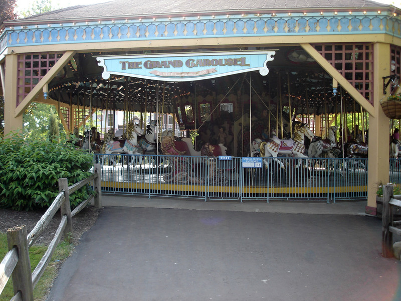 1926 Illions Grand Carousel was originally commissioned for the 1926 U.S. Sesquicentennial in Philadelphia - it was then moved to a park in Alabama until 1937 when it found it's current home in Ohio.
