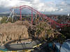 A good aerial persective - the log flume is the mountain in front and you can see most of Silver Bullet's layout as well as most of Monty and some of Jaguar.