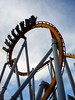 Silver Bullet's cobra roll is located right inside the entrance plaza - hard to miss.