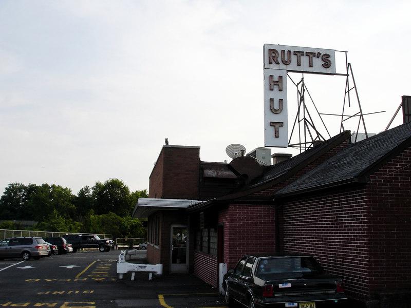 Rutt's Hut famous NJ hot dog stand