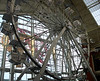 Standing but not operating Ferris Wheel in the Palisades Mall (Nyack, NY)