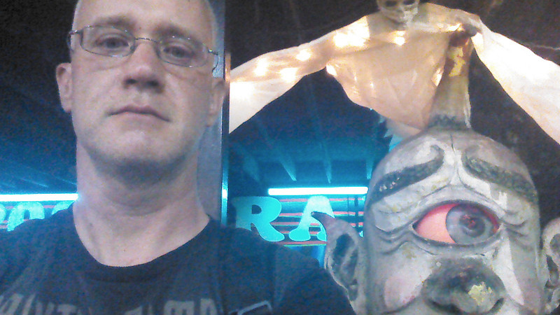 6/23/12 - just over an hour to go, me and the Cyclops