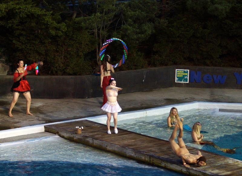 6/23/12 - Mermaid Ball at the Aquarium