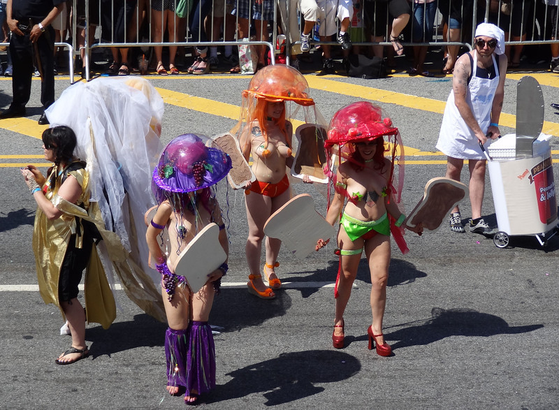 6/23/12 - The 30th Annual Mermaid Parade - Peanut Butter and Jellyfish