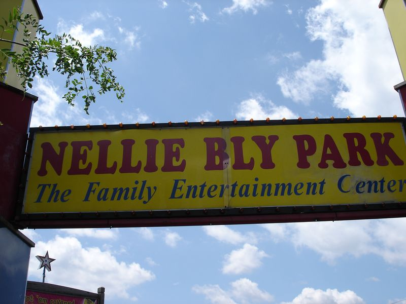 Main entrance to Nellie Bly
