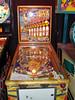 "Tucked in with contemporary pinball machines was this amazing 1958 Gottlieb ""Sittin' Pretty"" machine"