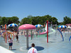 Ontario Place's water play area