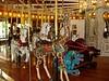 Giraffe and chariot
