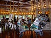The highlight of Riverfront Park (at least for me) is their 1909 Loof Carousel.  Originally located at Spokane's Natatorium amusement park until the late 1960's, the carousel has been at Riverfront since the 1970's and is one of the few left with a ring machine.  It is a beautiful machine and in excellent condition.