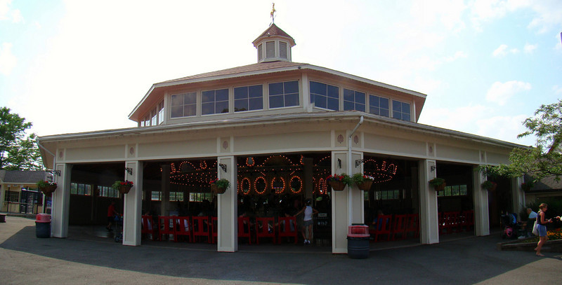 Carousel building.   Seabreeze lost the majority of their original carousel (PTC #36) in a devasting fire in the 1990's.