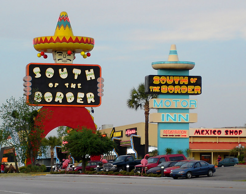 South of the Border is hard to miss from the I-95