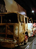 9/11 exhibit - destroyed fire truck