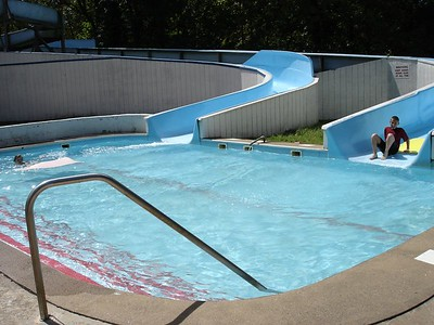 The slowest water slide in the world!