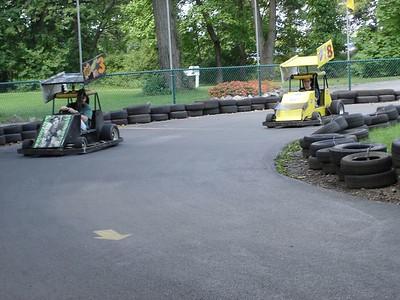 Williams Grove has funky looking Go-Karts.